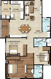 1570 sqft, 3 bhk Apartment in DSR Waterscape Horamavu, Bangalore at Rs. 0