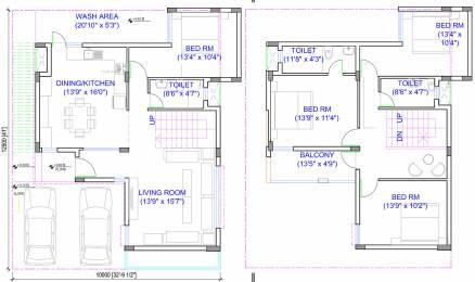 2303 sqft, 4 bhk Villa in Pacifica Aurum Villas Padur, Chennai at Rs. 0