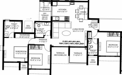 1341 sqft, 3 bhk Apartment in Runal Gateway Phase 1 Ravet, Pune at Rs. 0