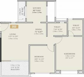 673.39 sqft, 2 bhk Apartment in VTP Solitaire Phase 1 A B Pashan, Pune at Rs. 0