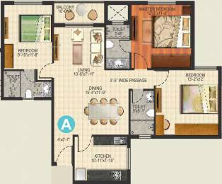 1510 sqft, 3 bhk Apartment in Ideal Aquaview Phase 2 Salt Lake City, Kolkata at Rs. 0