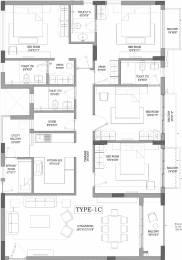 2317 sqft, 4 bhk Apartment in PS Jiva Beliaghata, Kolkata at Rs. 0