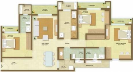 1726 sqft, 3 bhk Apartment in Indiabulls Greens Panvel, Mumbai at Rs. 0