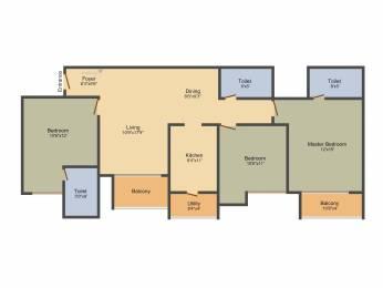 1753 sqft, 3 bhk Apartment in Ozone Greens Medavakkam, Chennai at Rs. 0