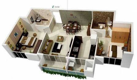 925 sqft, 2 bhk Apartment in KG Signature City Mogappair, Chennai at Rs. 0