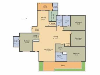 3205 sqft, 4 bhk Apartment in TATA The Promont Banashankari, Bangalore at Rs. 0