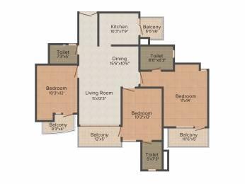 1690 sqft, 3 bhk Apartment in Mapsko Casa Bella Sector 82, Gurgaon at Rs. 0