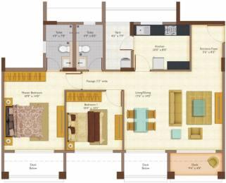 1090 sqft, 2 bhk Apartment in Peninsula Ashok Meadows Hinjewadi, Pune at Rs. 0