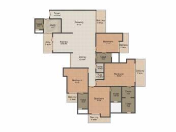 2690 sqft, 4 bhk Apartment in Civitech Stadia Sector 79, Noida at Rs. 0