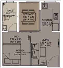360 sqft, 1 bhk Apartment in Xrbia Smart City Warai, Mumbai at Rs. 0
