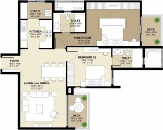 1455 sqft, 2 bhk Apartment in Shapoorji Pallonji ParkWest Chamarajpet, Bangalore at Rs. 0