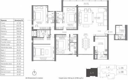 4203 sqft, 4 bhk Apartment in TATA 88 East Alipore, Kolkata at Rs. 0