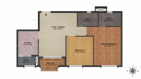 999 sqft, 2 bhk Apartment in TATA New Haven Ribbon Walk Moolacheri, Chennai at Rs. 0