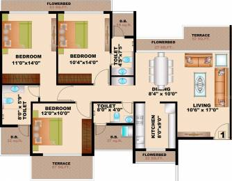 1995 sqft, 3 bhk Apartment in Bhagwati Greens 1 Kharghar, Mumbai at Rs. 0