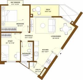 895 sqft, 1 bhk Apartment in Bhartiya Nikoo Homes 2 Kannur on Thanisandra Main Road, Bangalore at Rs. 0