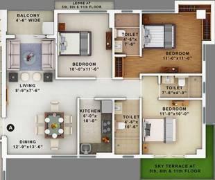 1337 sqft, 3 bhk Apartment in Merlin Maximus Sodepur, Kolkata at Rs. 0