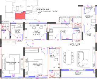 1531 sqft, 3 bhk Apartment in Olympia Jayanthi Residences Thiruvanmiyur, Chennai at Rs. 0