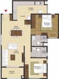 1296 sqft, 2 bhk Apartment in Brigade Xanadu Mogappair, Chennai at Rs. 0