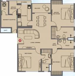 1734 sqft, 3 bhk Apartment in Mani Megh Mani Kasba, Kolkata at Rs. 0