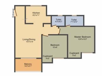 797 sqft, 2 bhk Apartment in Saheel Itrend Homes Hinjewadi, Pune at Rs. 0