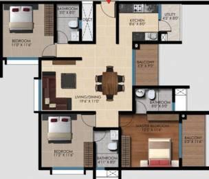1550 sqft, 3 bhk Apartment in Vaishnavi Oasis JP Nagar Phase 9, Bangalore at Rs. 0