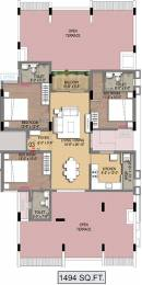 1494 sqft, 3 bhk Apartment in Radiance Empire Perambur, Chennai at Rs. 0