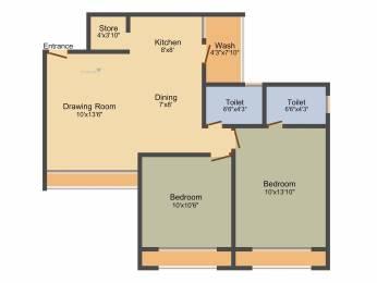 1170 sqft, 2 bhk Apartment in Narayan Krupal Bachpan Shela, Ahmedabad at Rs. 0