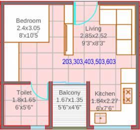 382 sqft, 1 bhk Apartment in Mantra 7 Hills Dhayari, Pune at Rs. 0