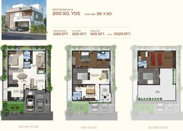 3029 sqft, 3 bhk Villa in Magna Majestic Meadows Kollur, Hyderabad at Rs. 0