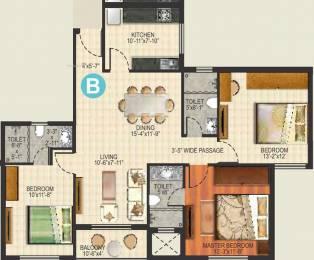 1505 sqft, 3 bhk Apartment in Ideal Aquaview Phase 2 Salt Lake City, Kolkata at Rs. 0