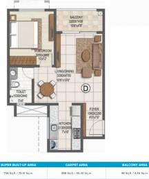 758 sqft, 1 bhk Apartment in Brigade Buena Vista Phase 2 Budigere Cross, Bangalore at Rs. 0