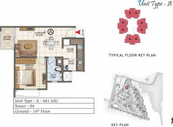 661 sqft, 1 bhk Apartment in Prestige Lake Ridge Subramanyapura, Bangalore at Rs. 0