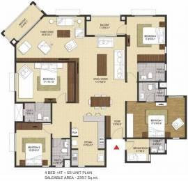 2580 sqft, 4 bhk Apartment in Brigade Xanadu Mogappair, Chennai at Rs. 0