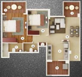 1222 sqft, 2 bhk Apartment in Nahar F Residences Balewadi, Pune at Rs. 0