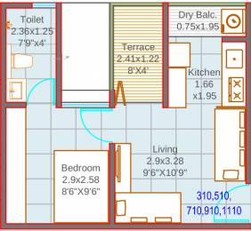 346 sqft, 1 bhk Apartment in Mantra 7 Hills Dhayari, Pune at Rs. 0