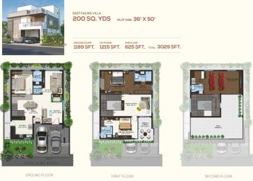3029 sqft, 3 bhk Villa in Magna Majestic Meadows Kollur, Hyderabad at Rs. 0