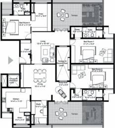 2938 sqft, 4 bhk Apartment in BBCL Vajra Mogappair, Chennai at Rs. 0