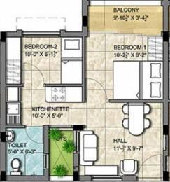 525 sqft, 1 bhk Apartment in KG Good Fortune Perumbakkam, Chennai at Rs. 0