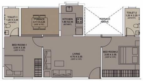 812 sqft, 2 bhk Apartment in Xrbia Smart City Warai, Mumbai at Rs. 0