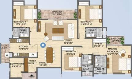 2338 sqft, 4 bhk Apartment in Olympia Opaline Sequel Navallur, Chennai at Rs. 0