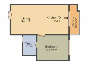 657 sqft, 1 bhk Apartment in Sobha Gateway Of Dreams Varthur, Bangalore at Rs. 0