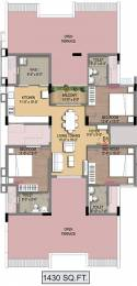 1430 sqft, 3 bhk Apartment in Radiance Empire Perambur, Chennai at Rs. 0