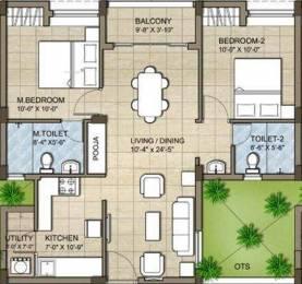 990 sqft, 2 bhk Apartment in KG Good Fortune Perumbakkam, Chennai at Rs. 0