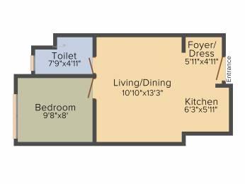 498 sqft, 1 bhk Apartment in Emami Tejomaya Navallur, Chennai at Rs. 0
