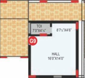 434 sqft, 1 bhk Apartment in RV Bhaiji Panchajanya Kondapur, Hyderabad at Rs. 0