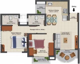 410 sqft, 1 bhk Apartment in TATA La Montana Phase III Talegaon Dabhade, Pune at Rs. 0