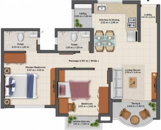 430 sqft, 1 bhk Apartment in TATA La Montana Phase III Talegaon Dabhade, Pune at Rs. 0