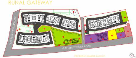 394.93 sqft, 1 bhk Apartment in Runal Gateway Phase 1 Ravet, Pune at Rs. 0