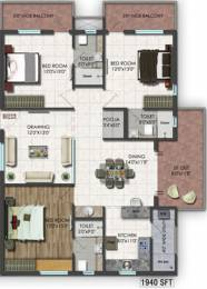 1940 sqft, 3 bhk Apartment in Raghuram A2A Life Spaces Sanath Nagar, Hyderabad at Rs. 0