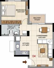 650 sqft, 1 bhk Apartment in Ozone Prime Devanahalli, Bangalore at Rs. 0